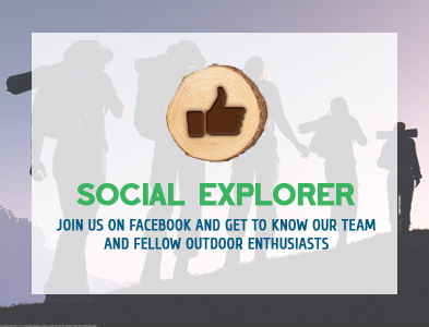 Social Explorer - Join us on Facebook and get to know our team and follow fellow outdoor enthusiasts
